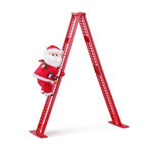 Mr. Christmas Santa Tabletop Climbing Ladder Tree
